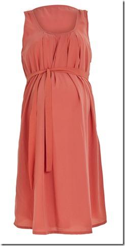 Linette SL Woven Dress Porcelian Rose